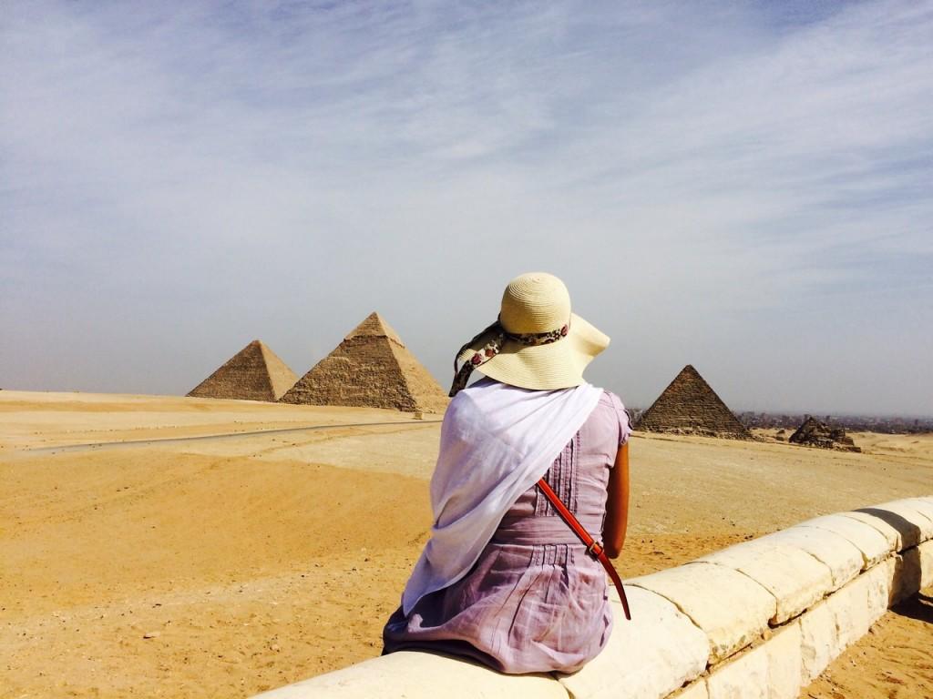 Egypte Gizeh Pyramides